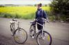 På äventyr kring Lund 1989 (Anders Österberg) Tags: skåne lund cykel grusväg