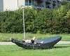 """""""Zhou"""" Sculpture from Shanghai (2012) by Shen Lieyi, Basel, Canton Basel-Stadt, Switzerland (jag9889) Tags: 2017 20170905 art artwork artist bs basel ch canton cantonbaselcity cantonbaselstadt europe helvetia kantonbaselstadt kunst lamppost lawn outdoor park people plastik publicart schweiz sculpture skulptur stadtbasel streetart suisse suiza suizra svizzera swiss switzerland tree woman jag9889"""