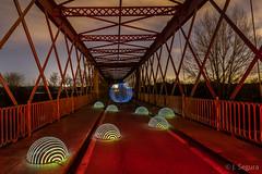 Formas en el puente (Yorch Seif) Tags: titulcia puente longexposure largaexposicion nocturna nocturnal lightpainting