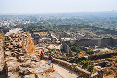 Golkonda Fort, Hyderabad (Ismail Ben Ibrahim) Tags: india golkonda hyderabad fort battle hill castle travel