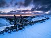 Winnats stile (Stephen Elliott Photography) Tags: peakdistrict derbyshire hopevalley castleton winnats pass winter dawn sunrise olympus em1 mkii 714mm kase filters