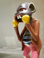 The Pugilist, George Lilanga, c.2000, Tanzania (jacquemart) Tags: britishmuseum london africangalleries bloomsbury thepugilist georgelilanga c2000 tanzania