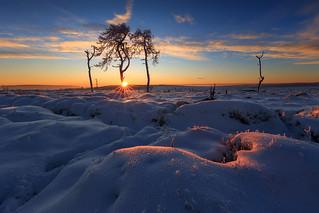 A cold sunrise!