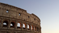The Colosseum at Sunset (Stewart Forsyth) Tags: rome colosseum roman gladiator architecture ancient italy amphitheatre