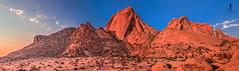 Spitzkoppe - Namibia (Guiyomont) Tags: spitzkoppe mountain africa namibia landscape travel bushmen sunset red