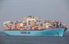 Elenora Maersk inbout Rotterdam Maasvlakte am 26.10.2017 (shawnglaeser) Tags: maersk schiff rotterdam maasvlakte port said schifffotograf schifffotografie