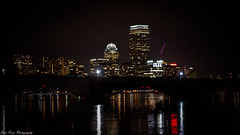 A city's transcendental river nightscape (kuntheaprum) Tags: citynightscape boston cityscape nikon d750 samyang 85mm f14 northpointpark charlesriver