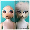 Before and After... My Peteena is Ready! (Retro Mama69) Tags: peteena hasbro 1966 poodle doll vintage toy restoration