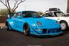 Amazing (Hunter J. G. Frim Photography) Tags: supercar arizona phoenix porsche 911 turbo rwb wing stanced low kit rare german blue black i6 993 porsche911turbo rwbporsche911