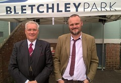 Bletchley Park with Al Murray, for TV series. (Christopher Wilson) Tags: bletchleyparkwithalmurray tvseries bletchleypark stationx almurray walkon bodydouble skilldouble standin supportingartist assistantdirector runner ad raywinstonestandin picturedouble voiceover uniform uniforms periodclothing hire reconstruction chriswilson christopherwilson productionrunner locationassistant film extra tv movie filmunit adr utilitystandin double model casting officer suit periodsuit uniformhire documentaries documentary vintage comedian thepublandlord codebreaker enigma lorenz ultra bletchley security cambridgespyring codeandcypherschool ystation ww2 war secondworldwar x codedmessage