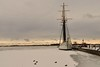 Empire Sandy,Toronto Waterfront (SONICGREGU) Tags: empiresandy frozenlakeontario lakeontario january winter nikon moored dock tallship ship canada ontario toronto waterfront torontowaterfront