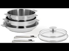 Cristel Casteline Multiply 18/10 Stainless Steel 7 Piece Cookware Set with (fspoon22) Tags: 1810 casteline cookware cristel multiply piece stainless steel