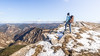 Crête de la montagne de Raton - Rosans (05) - France (Romain VENOT) Tags: hiking randonnée montagne landscape panorama sky neige winter hiver snow