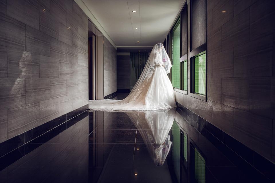 婚攝 高雄林皇宮 婚宴 時尚氣質新娘現身 S & R 089