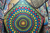 20180101 Cairo, Egypt 08911-576 (R H Kamen) Tags: appliqué cairo egypt egyptianculture largegroupofobjects middleeast multicolored northafrica artandcraft geometricpattern hanging pattern pillowcase quilt rhkamen streetmarket textile