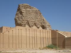Dur-Kurigalzu Ziggurat (1).jpg (tobeytravels) Tags: iraq argagouf ʿaqarqūf aqarquf neobabylonian enlil temple elamite akkadian kassite fortified mesopotamia sumaria kurigalzu