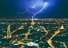 Lightning Paris (Thys Photography) Tags: parijs paris eiffeltower lightning thunder thysphotography thijsdegroot edit photoshop france nature strike