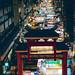 Temple street at night, Hong Kong China