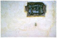 Shut Shutter  11 (Michael J. Woerner) Tags: detail old crumbling farmhouse shutter facade broken rotted ruin rotten window closed