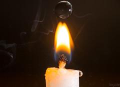 Flame HMM! (Brian Legate) Tags: macromondays flame macro photography fire light heat water droplet drop