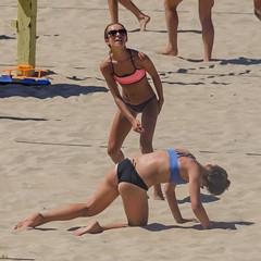 CBVA: DSC_5510 (Kevin MG) Tags: manhattanbeachpier cbva ball beach beachvolleyball bikinis competition cute fitness girls little net pretty recreation sand sports volleyball young youth