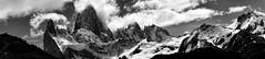 Desde el sur de la patagonia (Miradortigre) Tags: argentina patagonia landscape montañas bw byn fitzroy andes sur south blancoynegro paisaje panorama panoramica アルゼンチン 阿根廷 аргентина