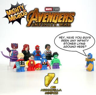 Mighty Micro Avengers vs. Thano