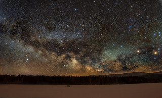 Milky Way rising!