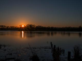 February Sundown