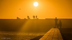 Silhouette (Dani Maier) Tags: essaouira marrakechsafi marokko ma maroc morocco sun orange silhouette fischer fishermen sunset gegenlicht sonnenuntergang sonnenstrahlen sunrays backlight