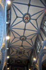 St Katharine Cree (Dun.can) Tags: stkatharinecree ceiling 17thcentury cityoflondon london 1633 gradeilisted church city