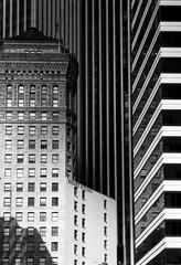 Hobart (marq4porsche) Tags: sanfrancisco california usa bw blanc noir canon f1n fd 85mm 18 ilford delta 400 1600iso architecture building buildings city urban cityscape urbanscape light morning shadows lines contrast