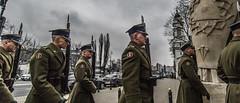 On the way to a Militairy Funeral... (Hans Kool) Tags: warschau warsawa warsaw polen poland
