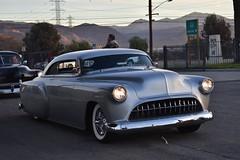Mooneyes X-Mas Party 2017 (USautos98) Tags: 1953 chevrolet chevy traditionalhotrod streetrod kustom leadsled