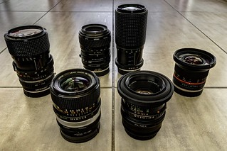 Manual Lenses for Sony E-mount