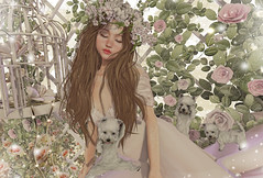 The Peace of the Roses (Gabriella Marshdevil ~ Trying to catch up!) Tags: sl secondlife cute kawaii doll bento catwa mudskin fameshed monso halfdeer blackbantam