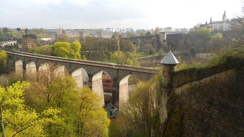 Luxembourg, Clausen Viaduct [05.04.2014]