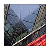 007 /100x Square format (neals pics) Tags: 100xthe2018edition 100x2018 image7100 london building iconic modern abstract architecture design lines reflection red office perspective light sky