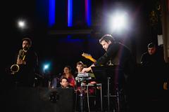 Calibro 35 @ Church of Sound, London 22.02.2018 (d_arkshines) Tags: calibro35 churchofsound giuliadelprato live music musicphotography london gig clapton e5 hackney church sound zeus enricogabrielli pjharvey lucacavina sebastianodegennaro enniomorricone ost soundtrack funk italian special concert livemusic canon eos 6d 50mm