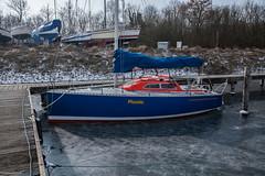 beautiful nature (alex.hartsema) Tags: cold koud ijs beautiful boat sailboad seaside waterkant water haven harbor oostwatering veersemeer arne zeeland nederland
