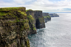 """""""The Cliffs of Moher & Harry Potter's Cave"""" (Gareth Wray - 10 Million Views, Thank You) Tags: sea moher ocean coast strand beach seascape scape county clare galway ireland knockardakin irish o'brien's tower rocks nature wild atlantic way natural horizon geology wonder tourist cliffs scenic sand waves summer visit cliffscape nikon d810 gareth wray strabane hdr hd granite sky clouds nikkor lens photographer head 2470mm liscannor parish burren doolin sun set sunset cloghaun day cloudy vacation holiday europe outdoor landscape cliff shore water rock crag formation ridge grass harry potter cave potters"""