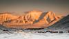 Mountian Glow (stuartgibbons95) Tags: sun sunset mountians svalbard longyearbyen landscape