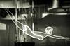 Lightning Diver (Seeing Visions) Tags: 2017 unitedstates us california ca losangeles la glendale museumofneonart mona light glowing gas glass tubes plasmastube ductsl female diver monochrome raymondfujioka