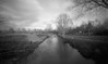 Cold river (Rosenthal Photography) Tags: ff120 asa125 winter lochkamera bnw schwarzweiss natur flus ilfordfp4 rotenburg pinhole mittelformat wümme landschaft dezember 20171204 rodinal150 6x9 bw analog zeroimage612b landscape nature december mood fields trees