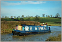 Patchwork narrowboat (Jason 87030) Tags: sheep fields view countryside oxfordcanal braunston northnats northamptoinshire cut blue sky weather local walk muddy water wet people boating leisure craft narrowboat 2018 uk january light shot alpha a6000 ilce sony scene pleasant crt unitedkingdom greatbritain photo photos pic pics socialenvy pleaseforgiveme picture pictures snapshot art beautiful picoftheday photooftheday color allshots exposure composition focus capture moment
