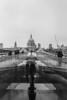 Rain, rain come again! (KTomlinson74) Tags: 35mm olympustrip scans trip blackandwhite london milleniumbridge millenium bridge millennium st pauls rain england