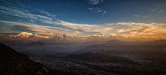Annapurna Himalaya's from Sarangkot (tclemitson) Tags: annapurnas himalayas nepal pokhara sarangkot sunrise westerndevelopmentregion