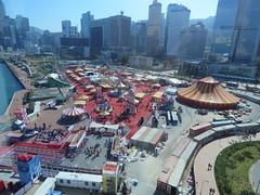 Hong Kong Wheel. (aitch tee) Tags: hongkong bigwheel ferriswheel touristviews touristattraction victoriaharbour fareast