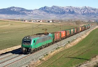 Tramesa Bilbao Mercancías-Aranda de Duero a cargo de la Bitrac 601.009