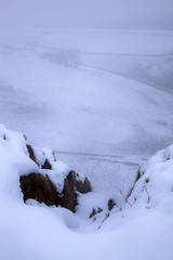 Out In The Cold (Julian Barker) Tags: chrome hill limestone country snow snowscape winter landscape peak district national park derbyshire dragons back england uk wilderness white out risky dangerous slippery slope canon dslr 5d mk2 24105mm l